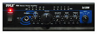 Pyle Pta4 Mini Stereo Power Amplifier - 2x120 Watt With Aux, Cd & Mic Inputs on sale