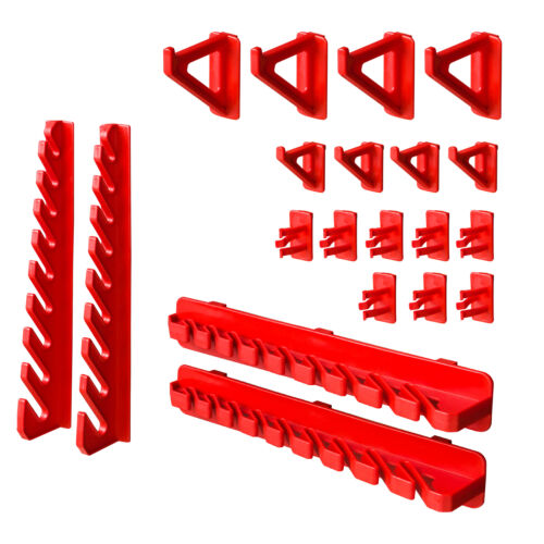 Boîtes Porte-outils Étagère murale pour système de rangement 115x78 cm 63 pcs