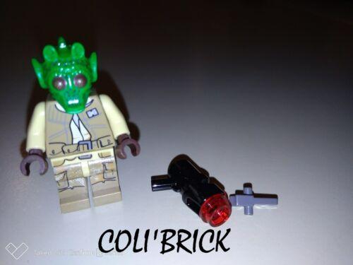 Lego Figurine Minifig Star Wars Rodian Alliance Fighter sw687 NEUF