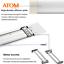 ATOM-LED-Batten-Tube-Light-Slim-Ceiling-Fitting-2ft-20W-30W-Cool-White thumbnail 3