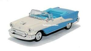 Nuevo-Ray-1-43-Diecast-1955-Oldsmobile-Super-88-Convertible-All-American-City