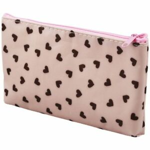 Sweet-Hearts-Sac-Cosmetique-Trousse-a-maquillage-Sac-a-main-rose-B9R2