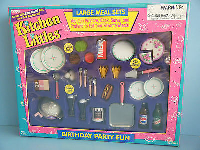 TYCO KITCHEN LITTLES BIRTHDAY CAKE SET