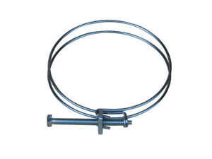 Charnwood 100HCDouble Wire Screw Clamp for 100mm Diameter Dust Extraction Hose 5060281690920
