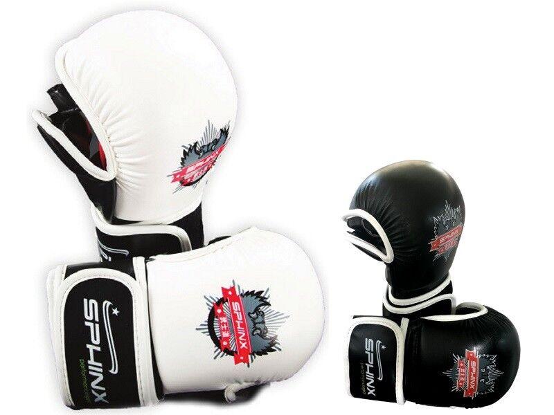 SPHINX Guanti da MMA Razor XX pelle fitness velcro allenamento competizione fitness pelle b6e255
