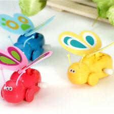 Clockwork Butterfly High New Kids Toddler Wind-up Butterfly Walking Toys