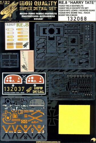presa di fabbrica Hgw 1 32 Re.8 ' Harry Tate 'Super Set Set Set Dettagli  132068  online al miglior prezzo
