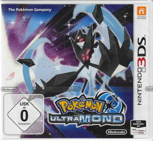 Pokemon-ULTRA-MOND-fuer-Nintendo-3DS-Neu-amp-OVP-Deutsche-USK-Version
