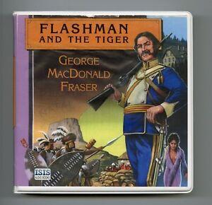 Flashman-and-the-Tiger-George-MacDonald-Fraser-Unabridged-Audiobook-10CDS