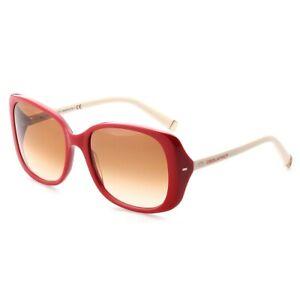 Dsquared2-Sonnenbrille-DQ0034-66F-Damen-Sunglasses-Lady-039-s-Rot-NEU-amp-OVP