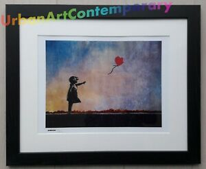 Banksy Serigraphie Signed Numbered on 300, Certificat Edition CADRE INCLUS obey