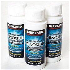 Kirkland minoxidil 5% 3 MONTHS ( rogaine,propecia,biotin,caboki,regaine,regro)