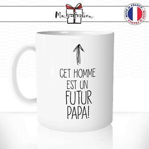 Mug Papa Définition Qualités Amour Fête Père Cadeau Original Tasse Personnalisée