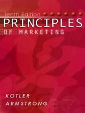 Principles of Marketing by Gary Armstrong and Philip Kotler (2003, Paperback)