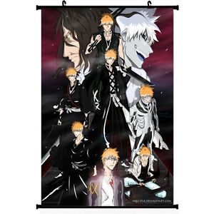 Bleach Kurosaki Ichigo Japan Anime Poster Wall Scroll 11.5x20 22.5x36 inches 005