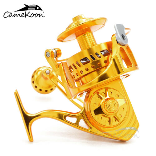 Details about  /CAMEKOON WT7000 Spinning Fishing Reel Aluminum Alloy Saltwater Surf Casting Reel
