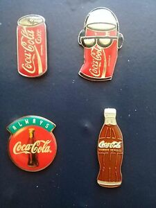 Lot-4-Pin-039-s-Coca-Cola