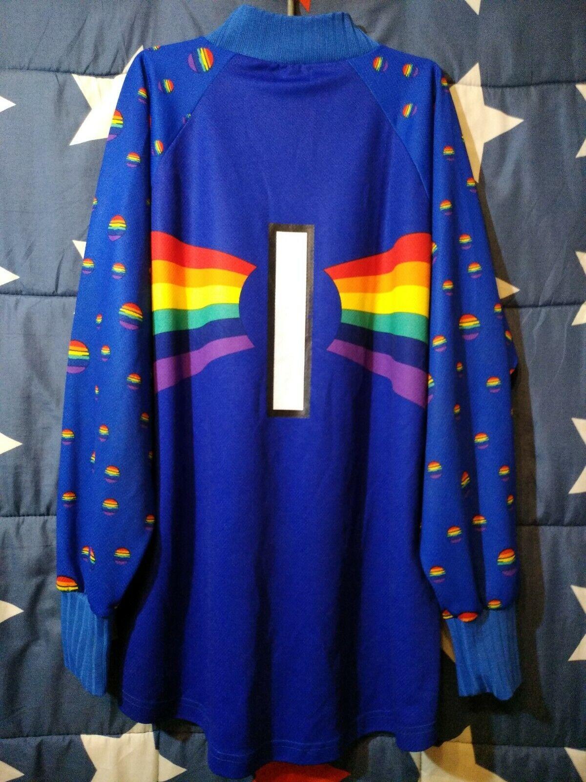 Größe XL VfL Bochum 1997-1998 Goalkeeper Football Shirt Jersey Faber  1