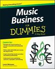 Music Business for Dummies by Consumer Dummies Staff and Loren Weisman (2015, Paperback)
