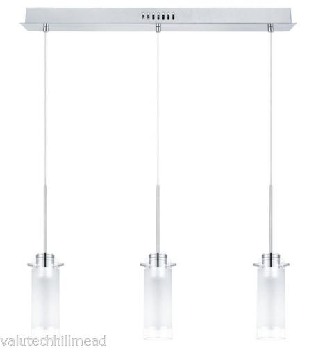Eglo Aggius 3 Light LED Pendant, BNIB, Box Damage, Home, Lighting (Q)