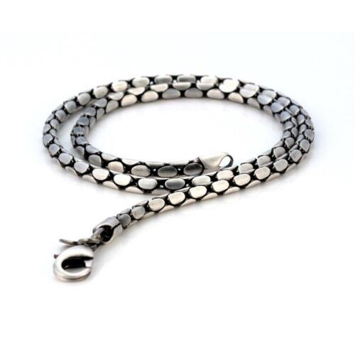 BICO Pacific Australia Jewelry Pewter Stylus18 Chain Silver Plated Necklace F14