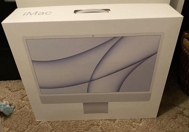 "Apple iMac 24"" (256GB SSD, Apple M1, 3.20GHz, 8GB, 8-Core GPU) Silver"