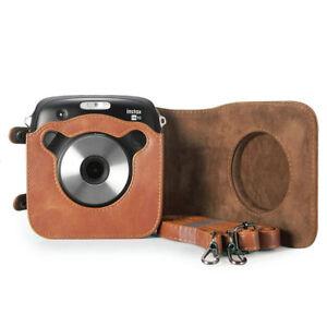Camera-Bag-for-Fujifilm-Instax-Square-SQ10-Camera-Case-with-Soft-PU-Leather