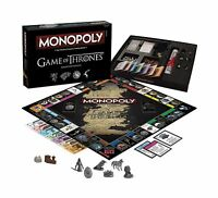 Monopoly: Game Of Thrones Collector's Edition Board Game Free Shipping