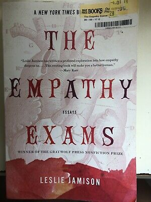 The empathy exams essays on pain top course work editing websites for college