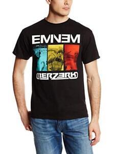SystéMatique Eminem T-shirt Berzerk Size L Official Merchandise Cool En éTé Et Chaud En Hiver