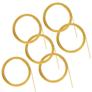6-Pcs-Beige-ABS-Guitar-Binding-Measures-6mm-x-1-5mm-Thick-Guitar-Parts