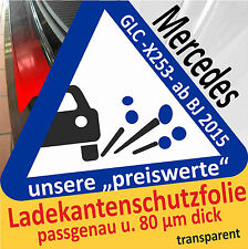 Mercedes Benz GLC (X253) Ladekantenschutz Folie Lackschutzfolie trans. 80 µm