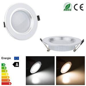 ultra slim 3w 5w 7w 9w 12w dimmable led downlight spot recessed light bulb ebay. Black Bedroom Furniture Sets. Home Design Ideas