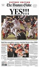 2004 - BOSTON RED SOX -  Headline World Series Poster -