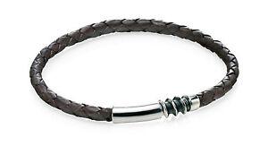 2019 Neuestes Design Fred Bennett Herren Sterlingsilber Schraube Armband Mit Magnetverschluss 22cm