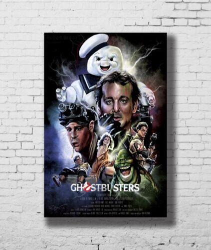 C1191 Ghostbusters Movie 1984 Art Silk Poster 20x30 24x36inch