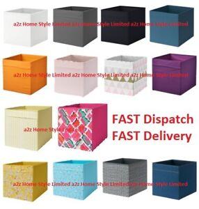 4x-IKEA-Storage-Boxes-Drona-Magazine-Kallax-Shelf-Drona-Box-Toy-Box-storage-Unit