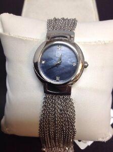 Detalles de Reloj de Pulsera nuevo viejo stock para mujer ESQ Swiss Made Modelo #E5389 ver título original