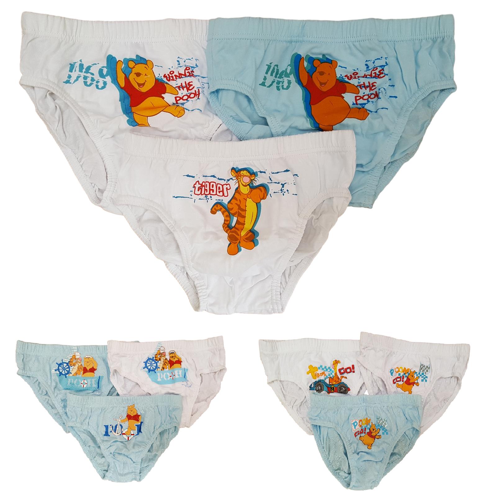 Boys 3 pack Winnie the Pooh briefs