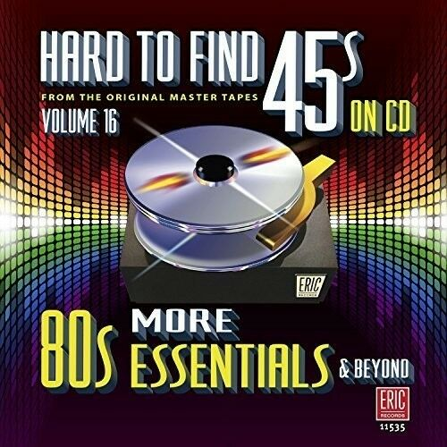 Various Artists - Hard To Find 45s On Cd 16 - More 80s / Various [New CD]