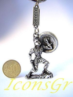 Keyring 300 Leonidas King Sparta Ancient Greek Vintage Zamac Spartan Miniature