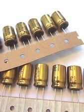 4X Nichicon FG MUSE series- 25V 47uf 4 PCS Audio Capacitor