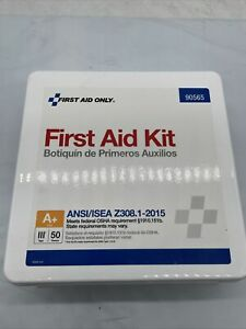 50 Person Bulk Plastic First Aid Kit, Ansi Compliant 90565