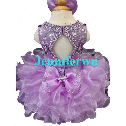 Infant//toddler//kids//baby//Girl/'s Pageant//prom//formal Dress size1-7 G090A