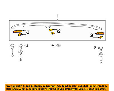 AUDI OEM Roof Rack Rail Luggage Carrier-Roof Rail Gasket Set Left 8E9860151