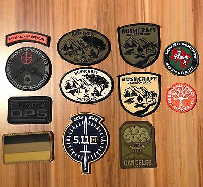 Patches,Bushcraft,Survival,Outdoor,Tactical,Pohl Force,Böker,5.11