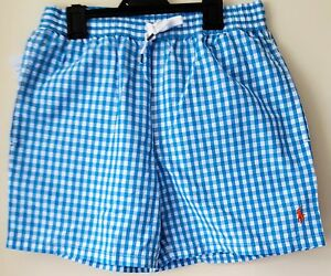 BNWT-Da-Uomo-Polo-Ralph-Lauren-Hawaiano-BOXER-Costume-da-Bagno-Nuoto-Pants-pantaloncini