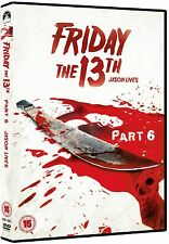 Friday The 13th: Part 6 [DVD]  Thom Mathews, Jennifer Cooke, David Kagen New