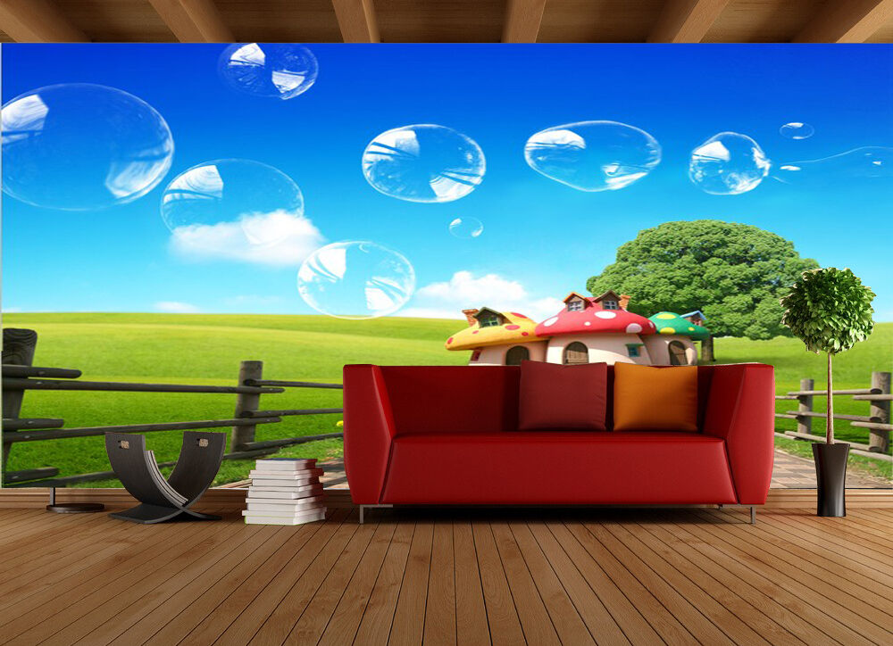 3D Bubble Grass art 3204 Paper Wall Print Decal Wall Wall Murals AJ WALLPAPER GB