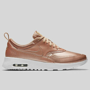 ec78d876e1 NIKE WMNS AIR MAX THEA SE METALLIC RED BRONZE SUMMIT WHITE SHOES ...